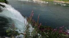 American Side of Niagara Falls (High Definition HD) Stock Footage