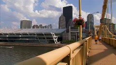 Pittsburgh Convention Center 838 Stock Footage