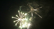 Stock Video Footage of FANTASTIC FIREWORKS 2