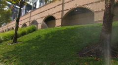 Lawn Sprinklers 840 Stock Footage