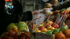 Stock Video Footage of produce exchange