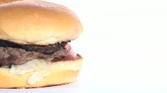 Burger loop with copy space V1 - HD  Stock Footage