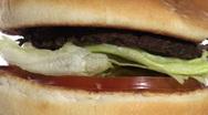 Burger loop macro V2 - HD  Stock Footage