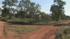 South Africa Jeep Safari 05 - stock footage