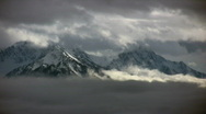 Stock Video Footage of hurricane ridge timelapse2