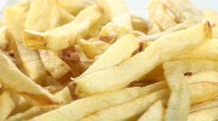 Fries loop macro V1- HD  Stock Footage