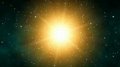 Galaxy Sunshine (25fps) Stock Footage