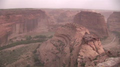 Upea timelapse autiomaan kanjoni (Canyon de Chelley) 2 Arkistovideo