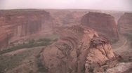Stock Video Footage of Stunning timelapse of desert canyon (Canyon de Chelley) 2