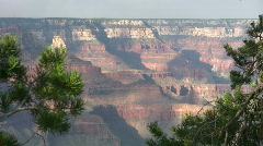 Grand Canyon from South Rim 13 Stock Footage