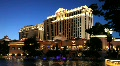 Caesar's Palace in Las Vegas at Night  Footage
