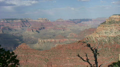 Grand Canyon from South Rim 14 Stock Footage