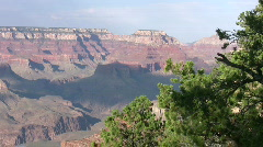 Grand Canyon from South Rim 15 Stock Footage