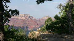 Grand Canyon from South Rim 16 Stock Footage