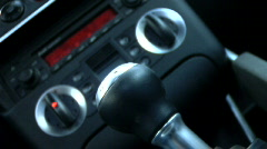 Sports Car Shift - stock footage