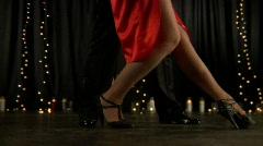 Tango legs Stock Footage
