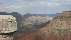Grand Canyon from South Rim 4 Stock Footage