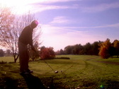Morning Golfer 209 Stock Footage