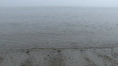 Tiny waves with sound Stock Footage