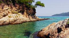 Greek island scene 2 Stock Footage