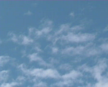 Float cloud on sky Stock Footage