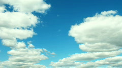 Clouds. time lapse HD NTSK Stock Footage