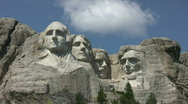 Stock Video Footage of Mount Rushmore 3