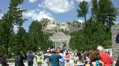 Mount Rushmore Stock Footage