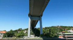 Under Bosporus bridge - v2 Stock Footage