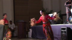 Philippino culture dancing 10 Stock Footage