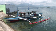 Poerto Princesa harbour 9 Stock Footage