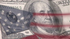 American Currency Stock Footage