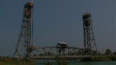 LIFT BRIDGE  Stock Footage