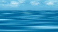 Extremely unnatural imaginary sea animation  Stock Footage