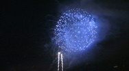 Stock Video Footage of Fantastic Fireworks 5 (HD)