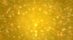 Gold Sparkle Stock Footage