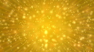 Stock Video Footage of Gold Sparkle