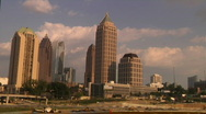 Stock Video Footage of Atlanta Time lapse