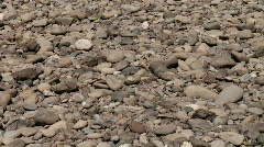 River rocks Stock Footage