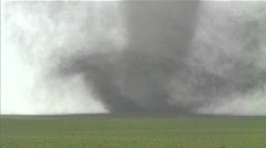 Large violent tornado, close up. Stock Footage