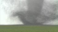 Stock Video Footage of Large violent tornado, close up.
