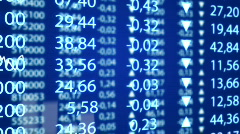 Exchange graph Stock Footage