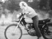 Amateur motorcycle bike stunts and tricks V.4 - Vintage Super8 Film Stock Footage