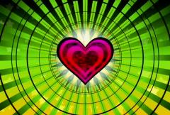 heart focus - stock footage