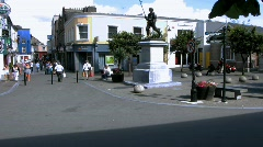 Wexford town Stock Footage