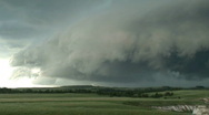 Stock Video Footage of Storms Over Montana