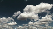 Stock Video Footage of Drifting Clouds