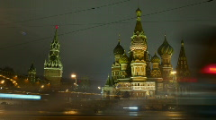 Moscow, Red Square Stock Footage