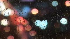 Rainy Night in NYC Stock Footage