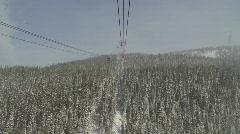 Whistler Peak to Peak - stock footage